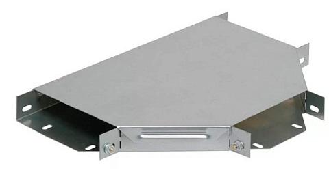 Ответвитель IEK CLP1T-050-050 плоский Т-образный 50х50 с крышкой