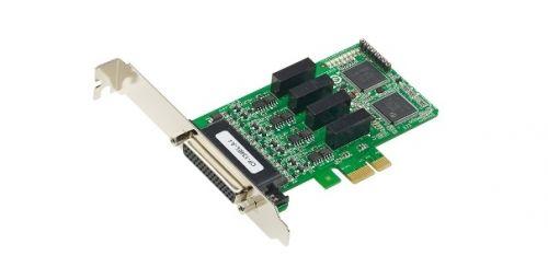 Плата MOXA CP-134EL-A-I-DB9M 4 Port PCIe Board, w/ DB9M Cable, low profile, RS-422/485, w/ Surge, w/ Isolation плата moxa cp 134el a i w o cable 4 port pcie board w o cable low profile rs 422 485 w surge w isolation