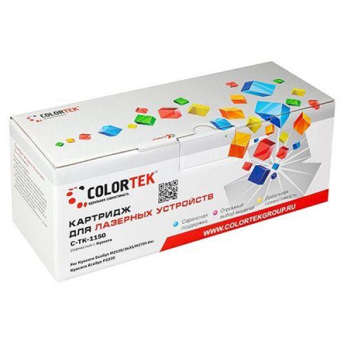 Картридж Colortek CT-TK1150 для Kyocera EcoSys M2135, Kyocera EcoSys P2235, Kyocera EcoSys M2635, Kyocera EcoSys M2735 dw, черный, 3000 стр