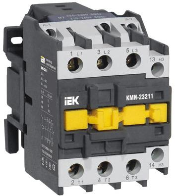 Контактор IEK KKM41-080-230-11 КМИ-48012 80А 230В/АС3 1НО,1НЗ