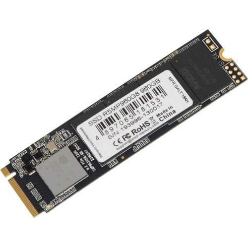 Накопитель SSD M. 2 2280 AMD R5MP960G8 960GB PCI-E x4 NVMe 3D TLC 2100/1900MB/s IOPS 248K/233K