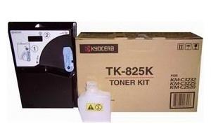 Тонер-картридж Kyocera TK-825K 1T02FZ0EU0 для МФУ KM-C2520, KM-C2525E, KM-C3232, KM-C3232E, KM-C4035E Black 15 000 коп
