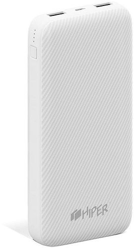 Аккумулятор внешний портативный HIPER SPX20000 white, Quick Charge 3.0