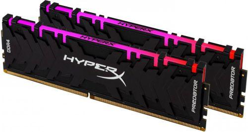 Модуль памяти DDR4 32GB (2*16GB) HyperX HX430C15PB3AK2/32 Predator RGB PC4-24000 3000MHz CL15 XMP радиатор 1.35V