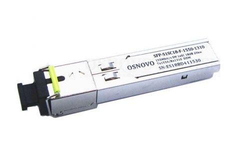 Модуль OSNOVO SFP-S1SC18-F-1550-1310.