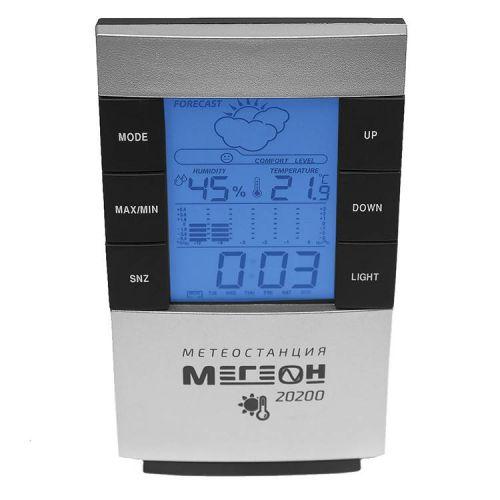 Измеритель температуры и влажности воздуха МЕГЕОН 20200 МЕГЕОН 20200 (термогигрометр), цифровой