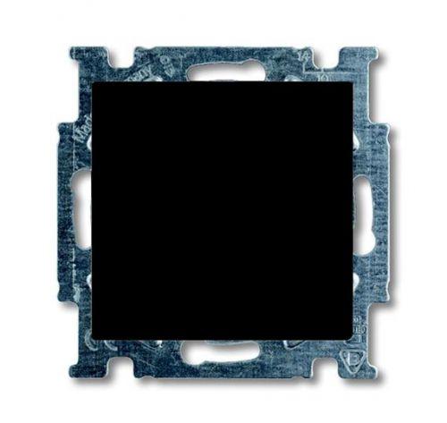 Переключатель ABB 1012-0-2179 BASIC 55 одноклавишный (механизм), 10А, 250В, IP20, в рамку шато (чёрный)