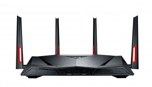 Маршрутизатор ASUS DSL-AC88U Wi Fi 802.11a/b/g/n/ac, ADSL2, 1000+2167Мбит/c, WAN, 4xLAN, USB
