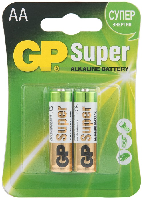 GP Super Alkaline 15A LR6