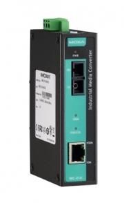 Медиа-конвертер MOXA IMC-21A-S-SC 10/100BaseT(X) to 100BaseFX, single mode, SC