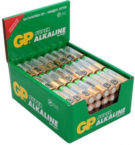 Фото - Батарейка GP Super Alkaline 15ARS LR6 1.5V, 96шт, size AA батарейка gp super alkaline aa 2 шт