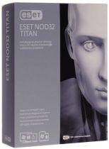 Eset NOD32 TITAN v.2 на 1 год для 3ПК и 1 мобильного устройства (коробка)