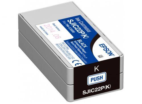 Фото - Картридж Epson SJIC22P(K) C33S020601 INK CARTRIDGE FOR TM-C3500 принтер epson tm c3500 012cd c31cd54012cd