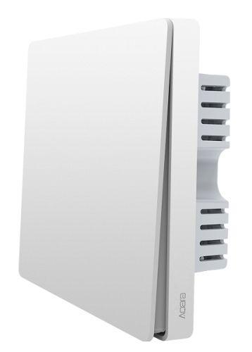 Выключатель Xiaomi Aqara Wall Switch (No Neutral, Single Rocker) QBKG04LM одна клавиши, белый, 220 В, 50 Гц, 800Вт