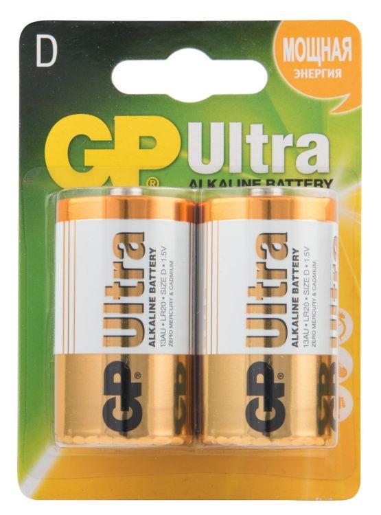 GP Ultra Alkaline 13AU LR20