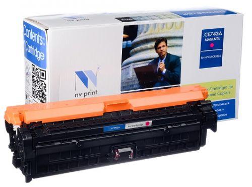 Картридж NVP NV-CE743AM Magenta для LJ Color CP5225 (7300k)