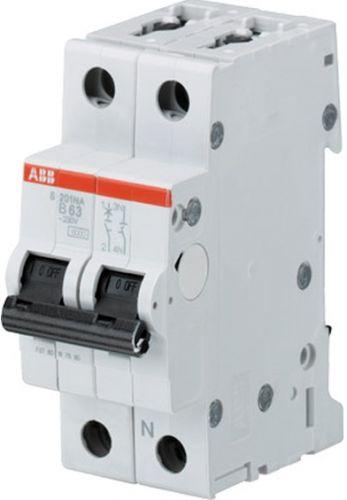 Фото - Автоматический выключатель ABB 2CDS252001R0034 S202 2P 3A (C) 6kA выключатель rexant 220v 3a 5с green 06 0353 a