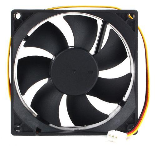Вентилятор для корпуса Gembird D9225HM-3 92x92x25, гидродинамический, 3 pin, провод 30 см вентилятор для корпуса gembird d50sm 12as