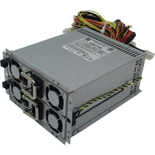 Блок питания ATX Procase GRP700 (700W+700W(1+1)),КПД=89+ Silver,185*150*86mm,Активный PFC,+5B=30A,+12B=58A,+3,3B=30A,-12V=1A,5VSB=3A,Защита от перегру