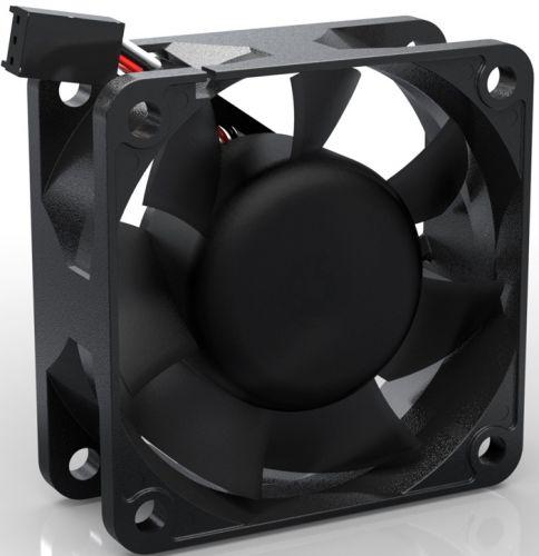 Вентилятор для корпуса Noiseblocker BlackSilentPRO PR-2 60x60x25 мм, 16,8 дБ, 2500rpm, 17.07 CFM, 3-pin вентилятор noiseblocker blacksilentpro pr 2 60mm 2500rpm