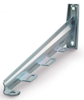 Консоль AXELENT 2115-420 X-TRAY X15/420, оцинкованно-хромированная