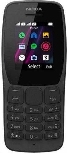 Мобильный телефон Nokia 110 DS 16NKLB01A07 black мобильный телефон nokia 215 ds 16qenb01a01 black