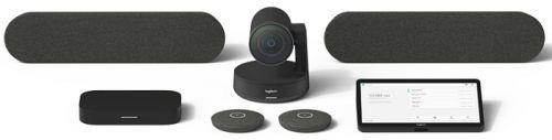 Система для видеоконференций Logitech taprapzomhpi Large Room with Tap + Rally Plus + HP Elite Slice for Zoom Rooms