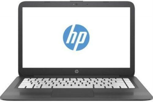 """Ноутбук HP Stream 14-ax018ur 2EQ35EA Celeron N3060/4Gb/SSD32Gb /Intel  HD Graphics 400/14/HD (1366x768)/Window s  10 64/grey/WiFi/BT/C am"""""""