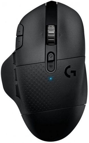 Мышь Wireless Logitech G604 910-005649 черная, bluetooth, 16000dpi, USB мышь logitech g g604 black wireless черный