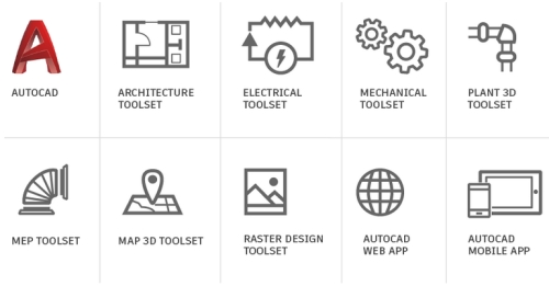 Autodesk AutoCAD - including specialized toolsets AD Multi-user ELD 3-Year Subscription Switched Fr