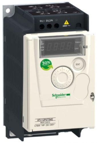 Преобразователь Schneider Electric ATV12P075M2 0,75кВт 240В 1Ф