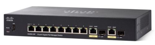 Коммутатор Cisco SB SG350-10-K9-EU SG350-10 10-port Gigabit Managed Switch