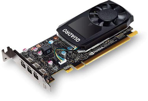 Видеокарта PCI-E PNY Quadro P400 V2 VCQP400V2-BLS 2GB GDDR5 64bit 14nm 1070/4000MHz 3*mDP