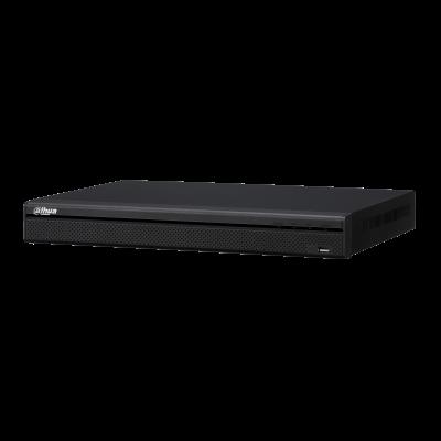 Видеорегистратор Dahua DHI-NVR4208-4KS2/L 8-и канальный 4K, вх поток на запись: до 128Мбит/с, H.264/H.265/Smart H.264+/Smart H.265+, до 8Мп, HDD: 2 SA
