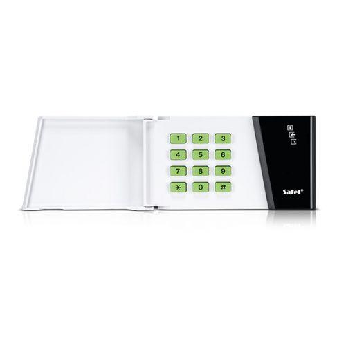 Клавиатура SATEL INT-SZK-GR кодонаборная светодиодная для контроля доступа ПКП INTEGRA и CA-64, 3 индикатора, зеленая подсветка клавиш