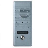 Переговорное устройство COMMAX DR-2PN 2-х проводное внешнее, металл, накладное крепление, 120х40х20мм, цвет - серебро