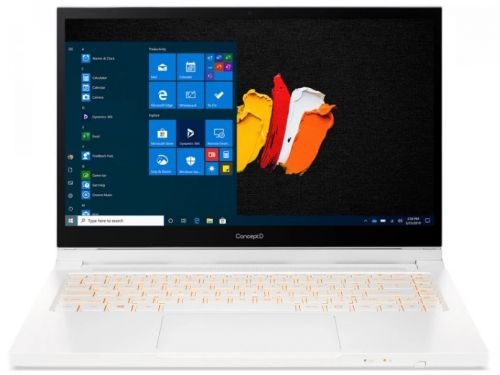 Фото - Ноутбук Acer ConceptD 3 Ezel CC314-72G-77YD NX.C5JER.002 i7-10750H/16GB/512GB SSD/NVIDIA GeForce GTX 1650 Ti 4GB/14/IPS/Touch/FHD/Win10Pro/white/WiFi ноутбук hp 17 cd1049ur 22q89ea i5 10300h 16gb 512gb ssd gtx1650 4gb 17 3 fhd ips bt cam free dos