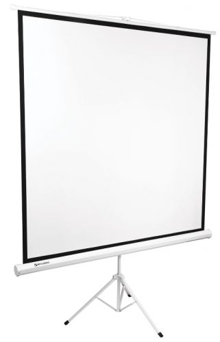 Экран BRAUBERG 236730 на треноге (180х180 см), матовый, 1:1