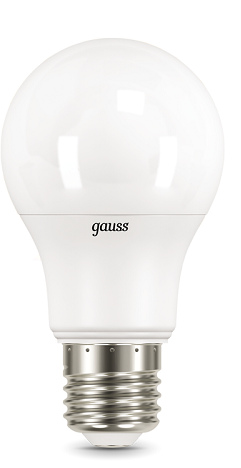 Фото - Лампа светодиодная Gauss 102502110 LED A60 10W E27 3000K лампа светодиодная gauss 102502210 s led a60 10w e27 4100k step dimmable 1 10 50