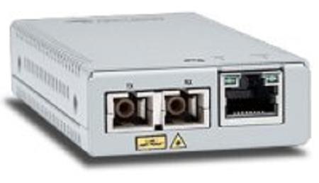 Медиа-конвертер Allied Telesis AT-MMC200LX/SC-960 TAA, 10/100TX to 100X/SC Single Mode Mini Media & Rate Converter модуль allied telesis at spfx 15 100basefx 15km 1310nm single mode fibre