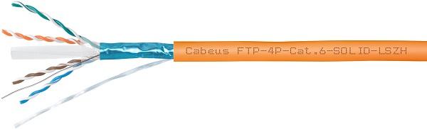Cabeus FTP-4P-Cat.6-SOLID-LSZH