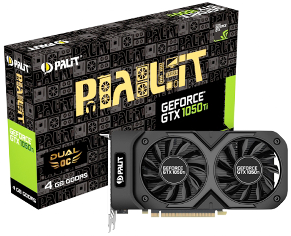 Palit GeForceGTX 1050 Ti