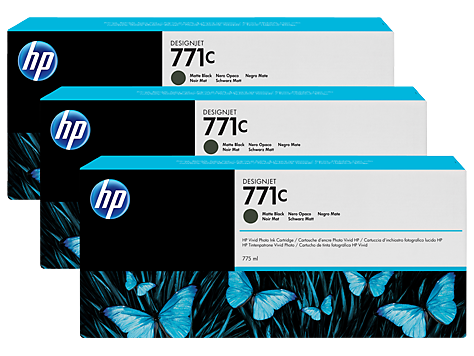 Картридж HP B6Y31A Matte Black Ink Cartridge 3-Pack