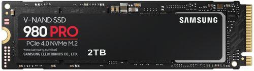 Фото - Накопитель SSD M.2 2280 Samsung MZ-V8P2T0BW 980 PRO 2TB PCIe Gen 4.0 x4, NVMe 1.3c V-NAND 3-bit MLC 7000/5100MB/s IOPs 1000K/1000K MTBF 1.5M внешний ssd samsung 250gb 980 pro m 2 pcie nvme mlc v nand mz v8p250bw