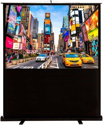 Экран Cactus CS-PSFLCE-200X113 FloorCompactExpert, 16:9, напольный рулонный