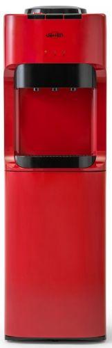 Кулер для воды Vatten V45RK напольный, компрессорное охлаждение кондиционеры  подогрев  охлаждение