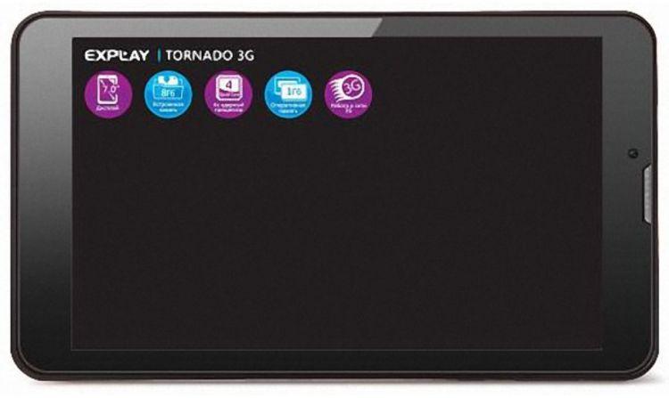 Explay Tornado 3G Black