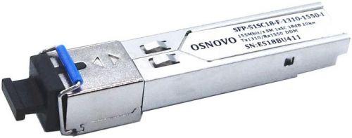 Модуль SFP OSNOVO SFP-S1SC18-F-1310-1550-I.