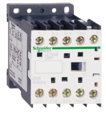 Контактор Schneider Electric LC1K0610Q7 3P, 6А, НО, 380V 50/60 Гц, зажим под винт