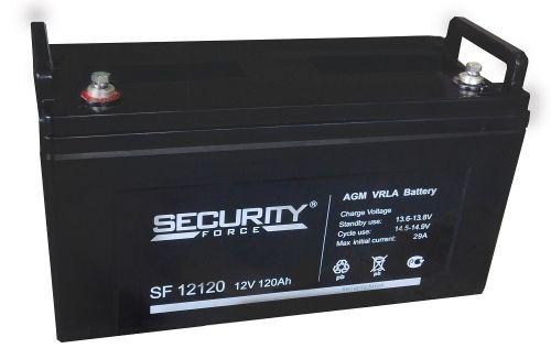 Аккумулятор Security Force 12 В, 120 Ач SF 12120 герметичный свинцово-кислотный